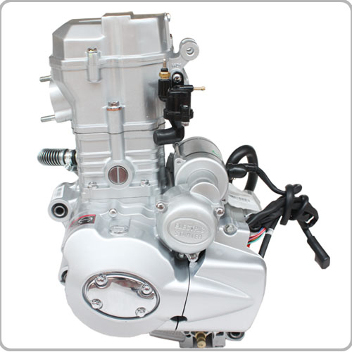 4-Stroke 200cc -250cc CG Water-Cooled Vertical Engine