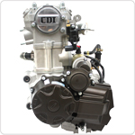 4-Stroke 200cc-250cc CB Water-Cooled Vertical Engine